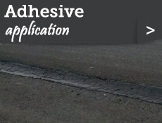 Adhesive application
