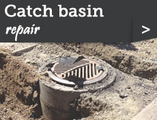 Catch basin repair